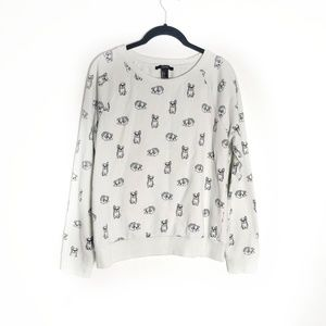 Forever 21 Frenchie Sweatshirt Large